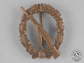 Germany, Federal Republic. An Infantry Assault Badge, Bronze Grade, Alternative 1957 Version