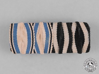 Germany, Imperial. A First War Period Medal Ribbon Bar
