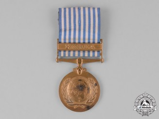 Netherlands, Kingdom. A United Nations Service Medal for Korea