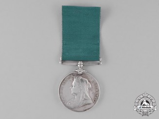 Canada. A Colonial Auxiliary Forces Long Service Medal, Cobourg County Garrison Artillery