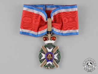 Serbia (Kingdom). A Serbian Order of the Cross of Takovo, III Class Commander, Type IV (1878-1903)