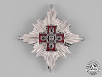 Croatia. A Second War Croatian Order of Merit; Lady's 1st Class Star; Christian Version
