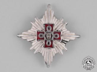 Croatia. A Second War Croatian Order of Merit; Lady's 1st Class Star; Christian Version