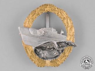 Germany, Federal Republic. A Kriegsmarine E-Boat Badge