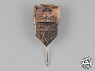 Sweden, NSAP. A 1937 National Socialist Workers' Party (NSAP) Göteborg Rally Stick Pin