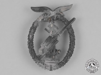 Germany, Luftwaffe. A Second War Luftwaffe Flak Badge