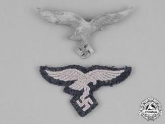 Germany, Luftwaffe. A Pair of Luftwaffe Eagle Insignia