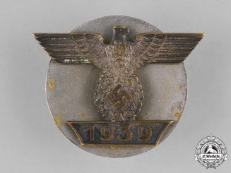 Germany, Wehrmacht. A Clasp to the 1939 Iron Cross, I Class, Type I