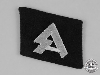 Germany, SS. An 18th Freiwilligen Waffen-SS Panzer Grenadier Division Horst Wessel Collar Tab
