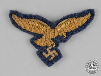 Germany, Luftwaffe. A General's Visor Cap Eagle, Uniform Removed