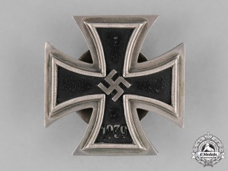 Germany, Wehrmacht. An Iron Cross, First Class 1939, by C.E. Juncker