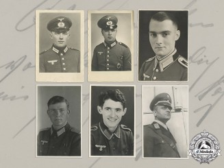 Germany, Heer. A Collection Of 22 Wartime Studio Portraits Of German Soldiers