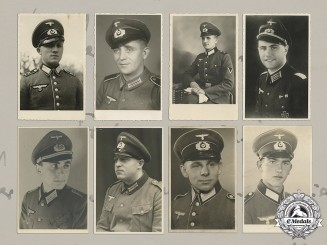 Germany, Heer. A Collection Of 25 Wartime Studio Portraits Of Heer Soldiers