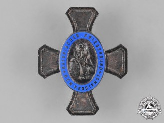 Germany, Weimar. A Bavarian War Veterans Organization Federal Honour Cross by Deschler & Sohn