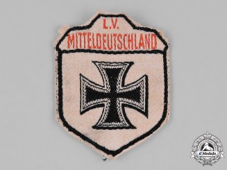 Germany, Stahlhelm. A Stahlhelm Mitteldeutschland (Central Germany) Member's Sleeve Patch