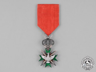 Saxe-Weimar, Duchy. An Order of the White Falcon, II Class Knight's Cross with Swords, c.1914