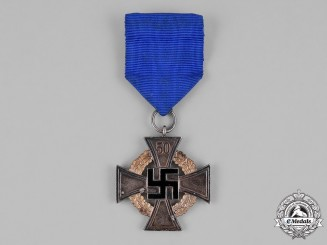 Germany, Third Reich. A 50-Year Civil Faithful Service Medal