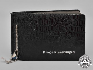 Germany, Kriegsmarine. A Private Wartime Photo Album Of U-Boat Hunter Radio Operator Obergefreiter Hans Hüllmann