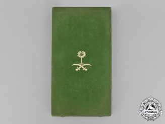 Saudi Arabia (Kingdom). King Abdulaziz Order of Merit, I Class Grand Cross Case