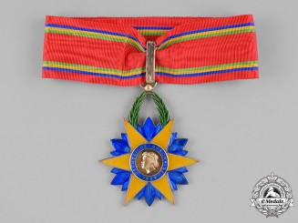Gabon. An Order of the Equatorial Star, III Class Commander, by Arthus Bertrand