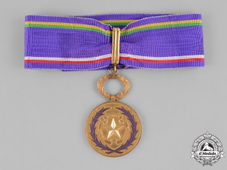 Central African Republic. An Order of Academic Palms, III Class Commander, by Arthus Bertrand