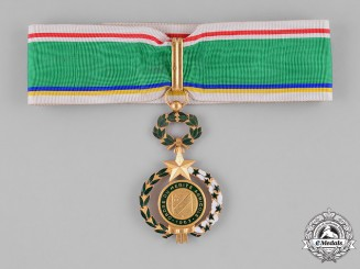 Central African Republic. An Order of Agricultural Merit, III Class Commander, by Arthus Bertrand