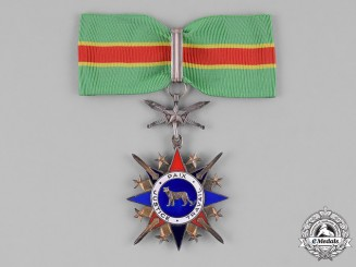 Congo, Democratic Republic. A National Order of the Leopold, Military, III Class Commander, by Arthus Bertrand