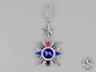 Congo, Democratic Republic. A National Order of the Leopard, Civil, III Class Commander, by Arthus Bertrand