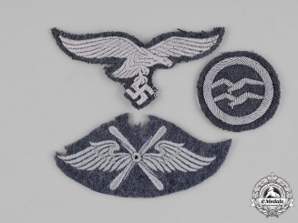 Germany, Luftwaffe. A Group of Uniform Insignia