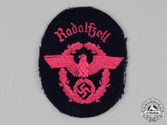 Germany, Feuerschutzpolizei. A Feuerschutzpolizei (Fire Protection Police) Radolfzell Sleeve Patch