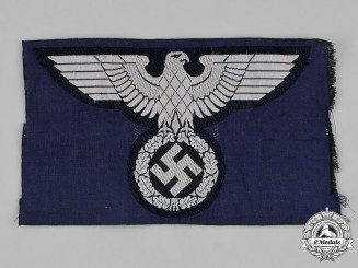 Germany, Third Reich. A NSDAP Breast Eagle for a Sports Shirt