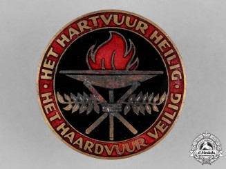 Netherlands, NSB. A National Socialist Movement in the Netherlands Women's League Badge