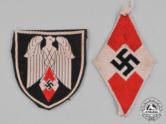 Germany, HJ. A Pair of HJ Arm Badges