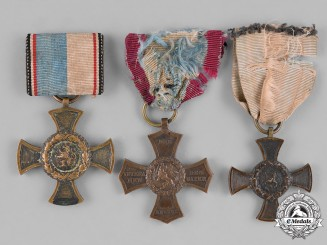 Bavaria, Kingdom.Three Bavarian Medals &Awards