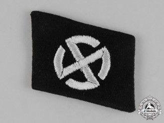 Germany, SS. A Collar Tab of the 11th Panzer Grenadier Division Nordland