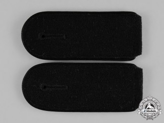 Germany, SS. A Pair Waffen-SS Pioneer/Engineer Enlisted Man's Shoulder Boards