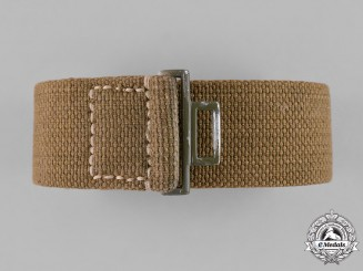 Germany, Afrikakorps. A Second War German Tropical Afrikakorps Belt