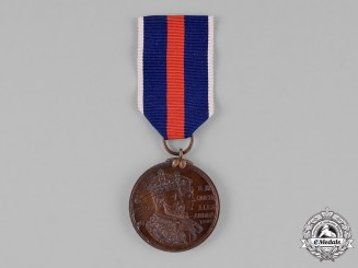 Great Britain. York Minister King Edward VII and Queen Alexandra Coronation Medal 1902