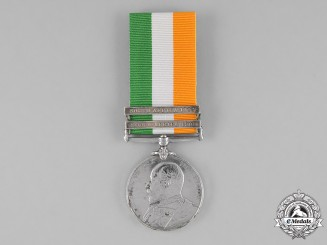 Great Britain. King's South Africa Medal 1901-1902, to Private A.G. Kerrich, Royal Army Medical Corps