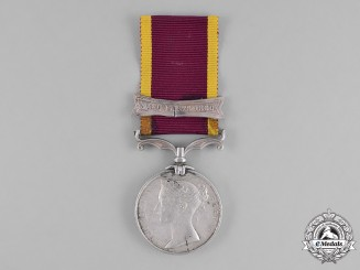 Great Britain. Second China War Medal 1857-1860, to W. Elliott, 1st Battalion, Royal Regiment