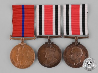 Great Britain. Three Police/Constabulary Medals