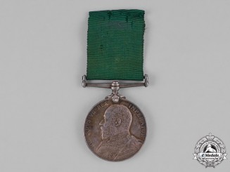 Great Britain. Volunteer Long Service Medal, to Private C. Strike, 2nd Volunteer Battalion, Duke of Cornwall's Light Infantry