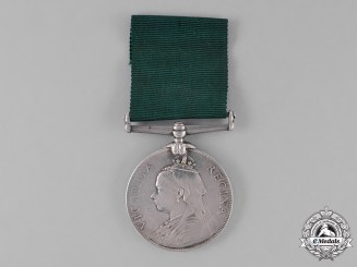 Great Britain. Volunteer Long Service Medal, Unnamed
