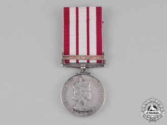 Great Britain. Naval General Service Medal 1915-1962, to Ordinary Signalman J. Burns, Royal Navy