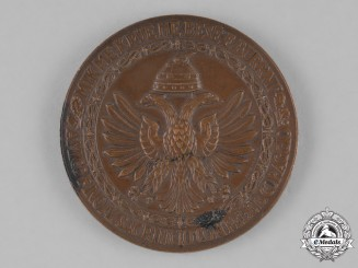 Albania (Italian Occupation). 9th Army Commemorative Table Medal for the Greece and Yugoslavia Campaigns of 1940-1941