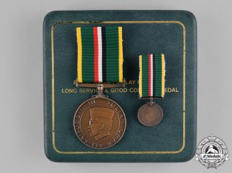 Brunei. Royal Brunei Malay Regiment Long Service and Good Conduct Medal by Spink of London