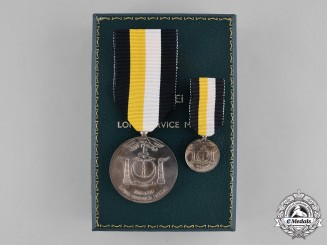 Brunei. Long Service Medal by Spink of London
