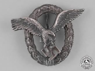 Germany, Luftwaffe. A Luftwaffe Pilot's Badge by Gebrüder Schneider