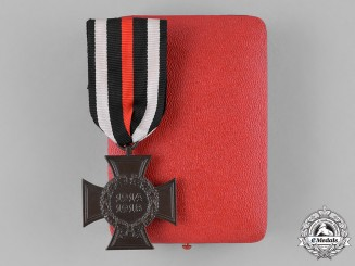 Germany, Third Reich. An Honour Cross of the World 1914/1918, with Case, by Wächtler and Lange