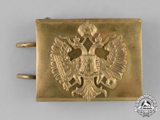 Austria, Imperial. A First War Period Austro-Hungarian Army EM/NCO's Belt Buckle
